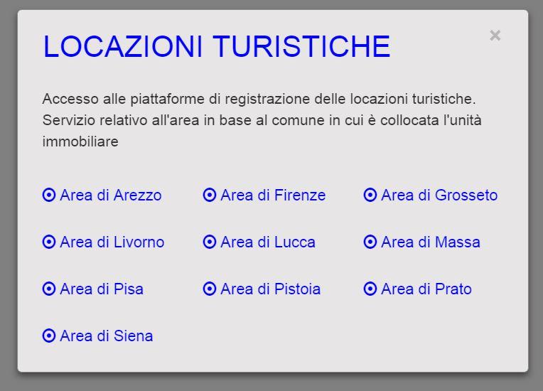 Locazioni Turistiche – Registrazione su Portale Regionale ...